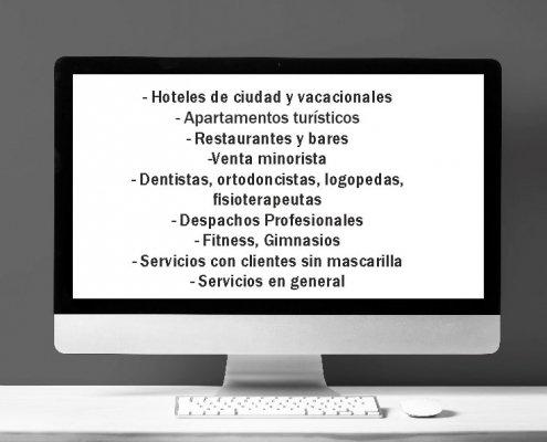 Planes de Prevención de Covid-19 para diversos sectores